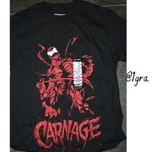 Men's CARNAGE (Spiderman) Marvel t-shirt
